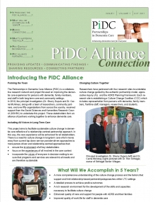 PiDC Alliance Connection Fall 2011