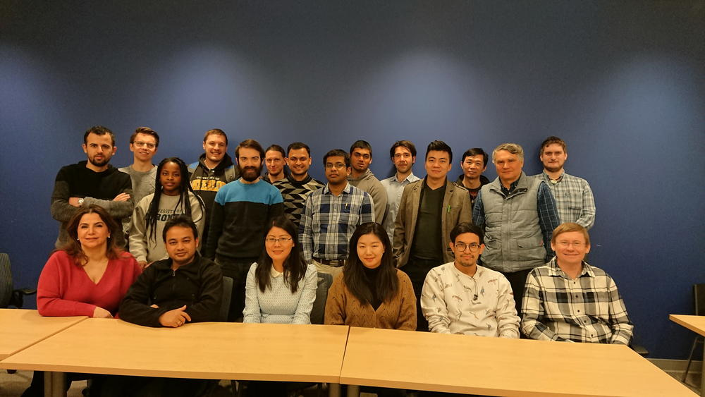 Professor Janusz Pawliszyn and his collaborators at University of Waterloo