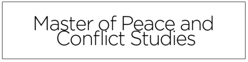Masters of Peace and Conflict Studies