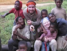 A group photo of Chaylene and friends in Cameroon.