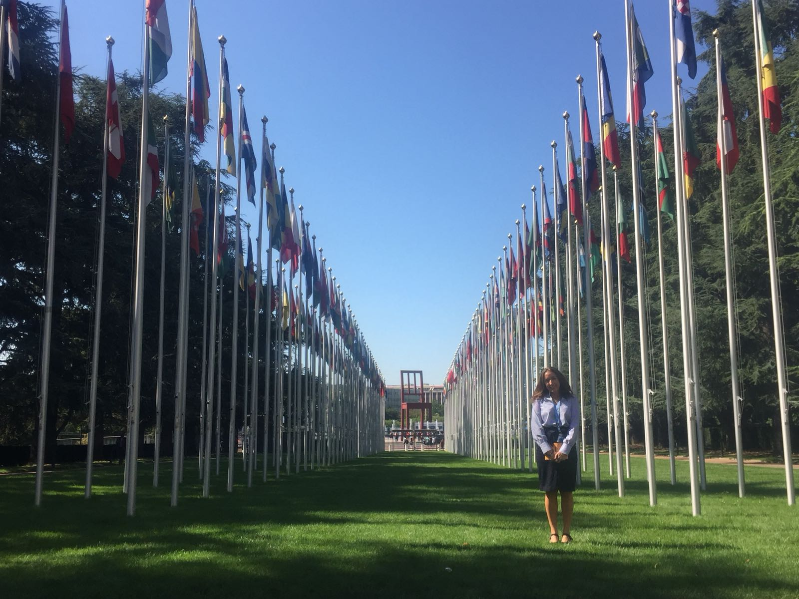 Apolline Montoya at the UN