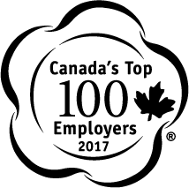 Canada's Top 100 Employers 2017 Logo