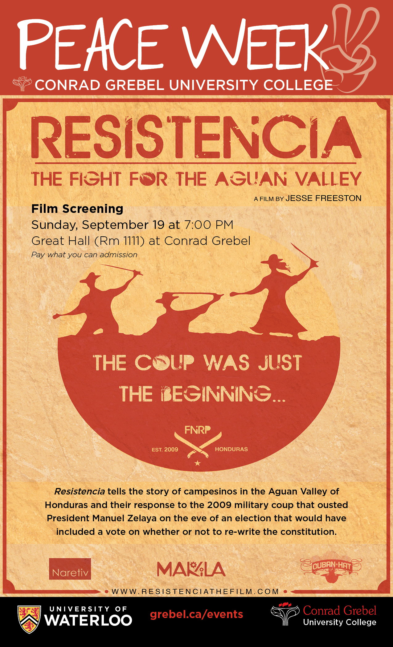 Resistencia - the fight for the Aguan Valley