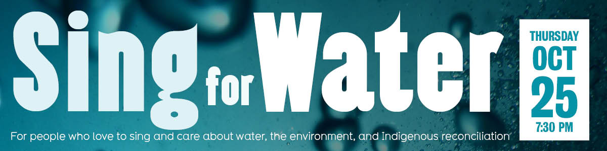Sing for Water banner