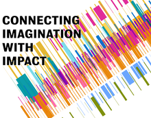 University of Waterloo Strategic Plan Cover page.  The title of the plan is Connecting Imagination with Impact
