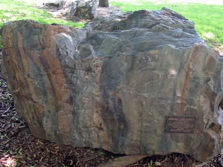 Argillite Peter Russell Rock Garden University Of Waterloo