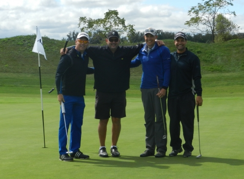 Apotex team on the golf course