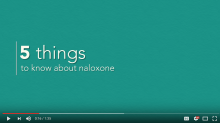 5 things to know about naloxone