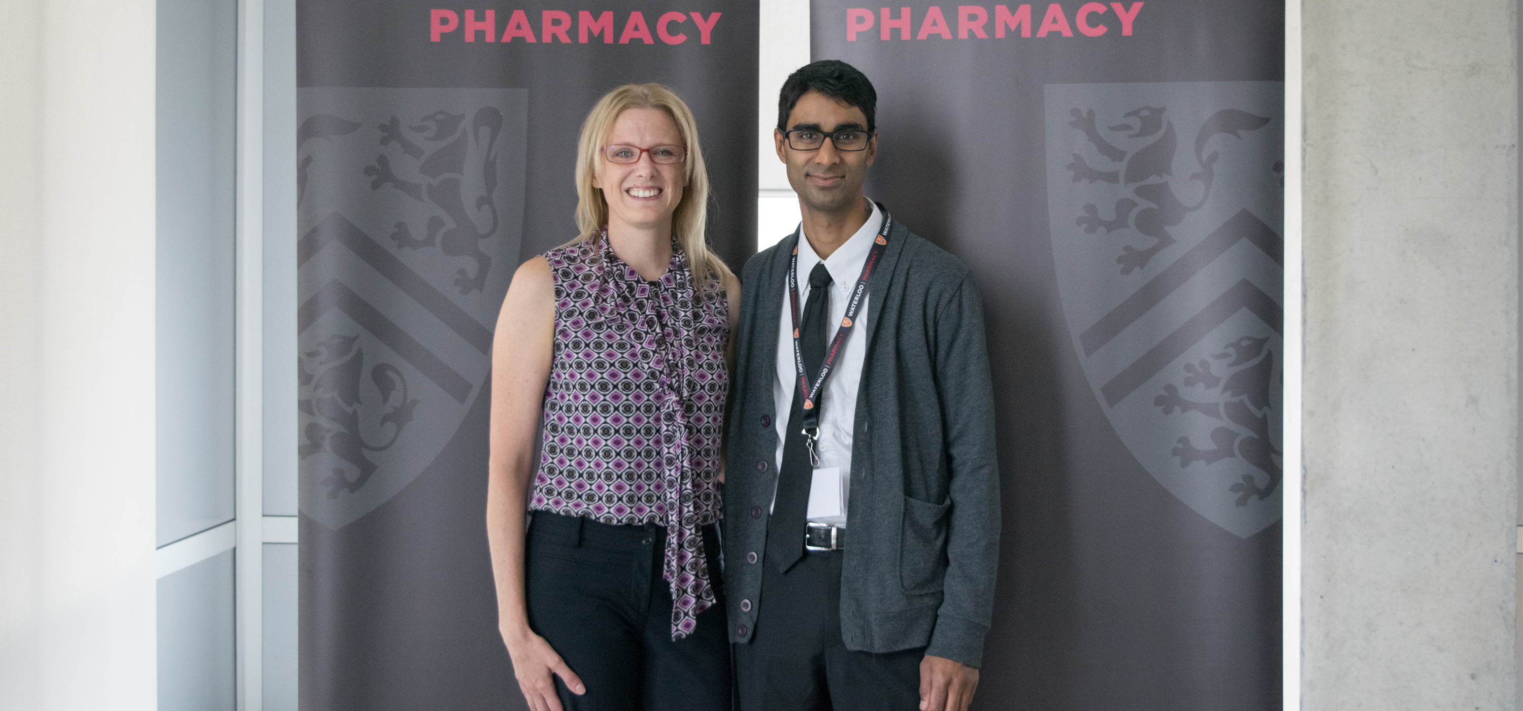 Andrea Edginton and Anil Maharaj