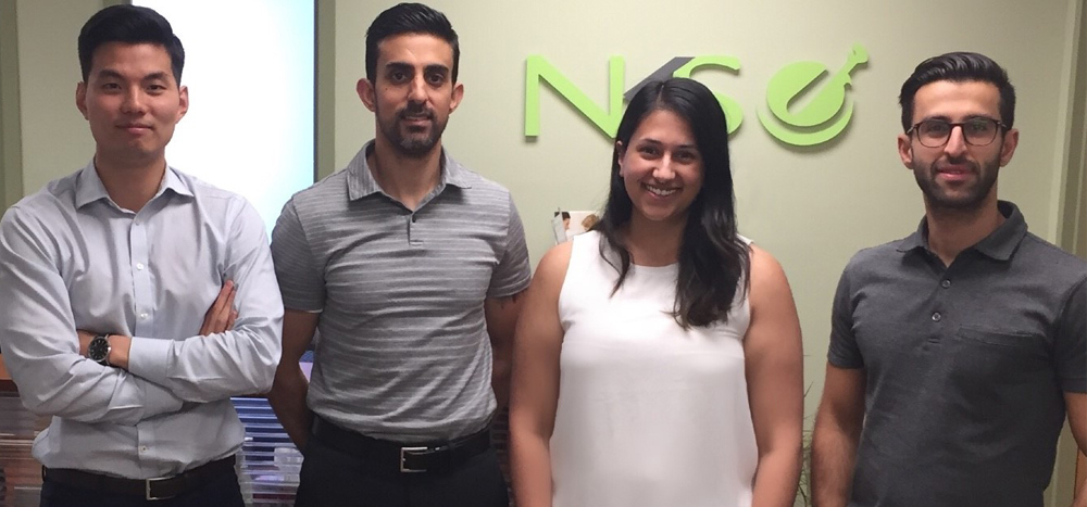 John Park,Farzan Dadfar, Pauline Bal and Siraj Khan at N.K.S. Health