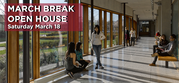March break open house 2017