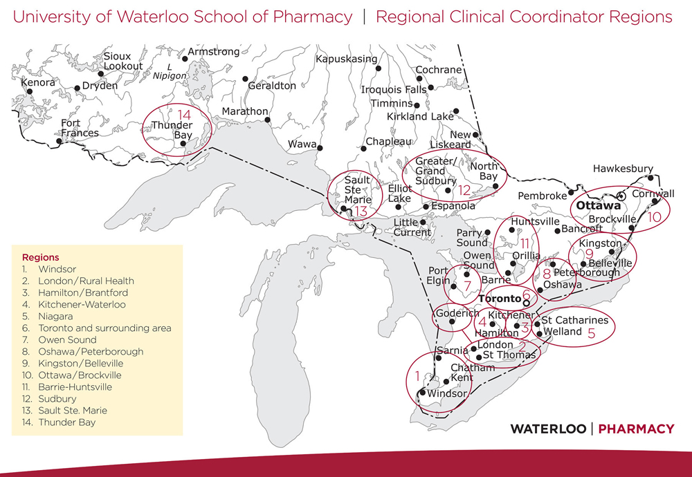 Patient Care Rotations School of Pharmacy University of Waterloo