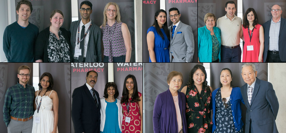 Graduates and their families at spring convocation