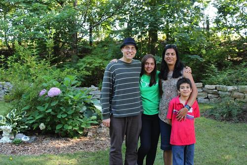 Poonam and Jason with family