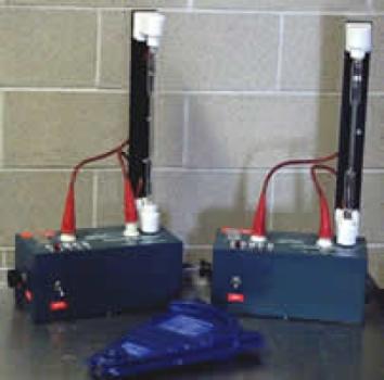 Photograph of spectrometer