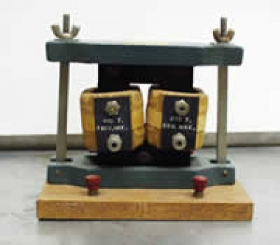 Photograph of a dissectable transformer