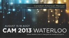 Canadian-American-Mexican Graduate Student Physics Conference