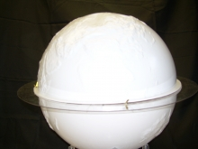 photo of the Earth globe