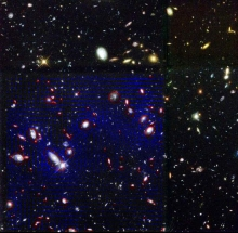 Weak Gravitational Lensing in the Hubble Deep Field