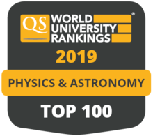 QS World University Rankings 2019 Top 100