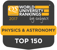 QS World University Rankings by subject 2017 TOP 150