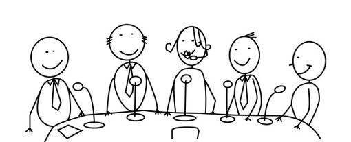 stick figures panel discussion