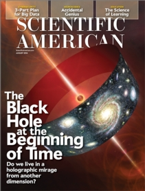 Scientific American cover