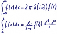 Integration by differentiation equation