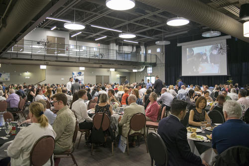 graduates and their families at the 2018 Graduation Luncheon