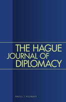 The Hague Journal of Diplomacy cover page.