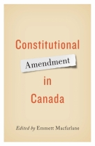 Constitutional Amendment in Canada book cover.
