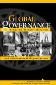 Global Governance journal book cover with photos