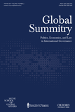 Global Summitry journal front page.