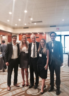 Group picture with Former Foreign Affairs Minister Stephane Dion.