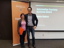 Jamie Vinken and Prof Aaron Ettinger