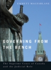 """Governing from the Bench"" cover."