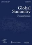Global Summitry journal cover