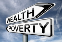 Wealth and poverty signs