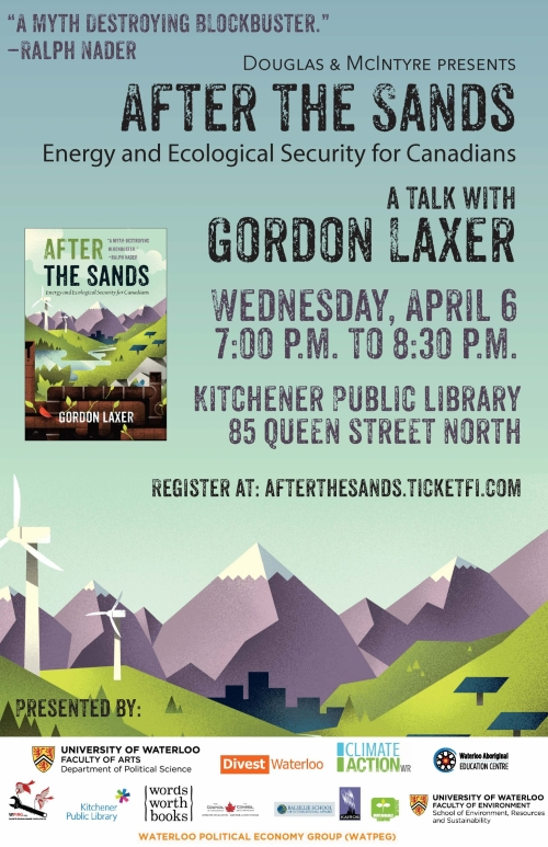 Energy & Ecology Security for Canadians