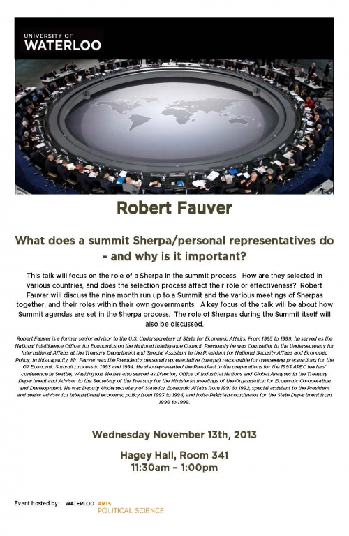 Robert Fauver Poster