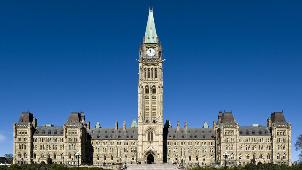 Picture of parliament hill.