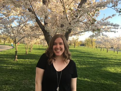 graduate student Jacqueline Harber