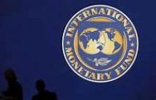 International Monetary Fund badge.