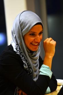 Zainab at conference