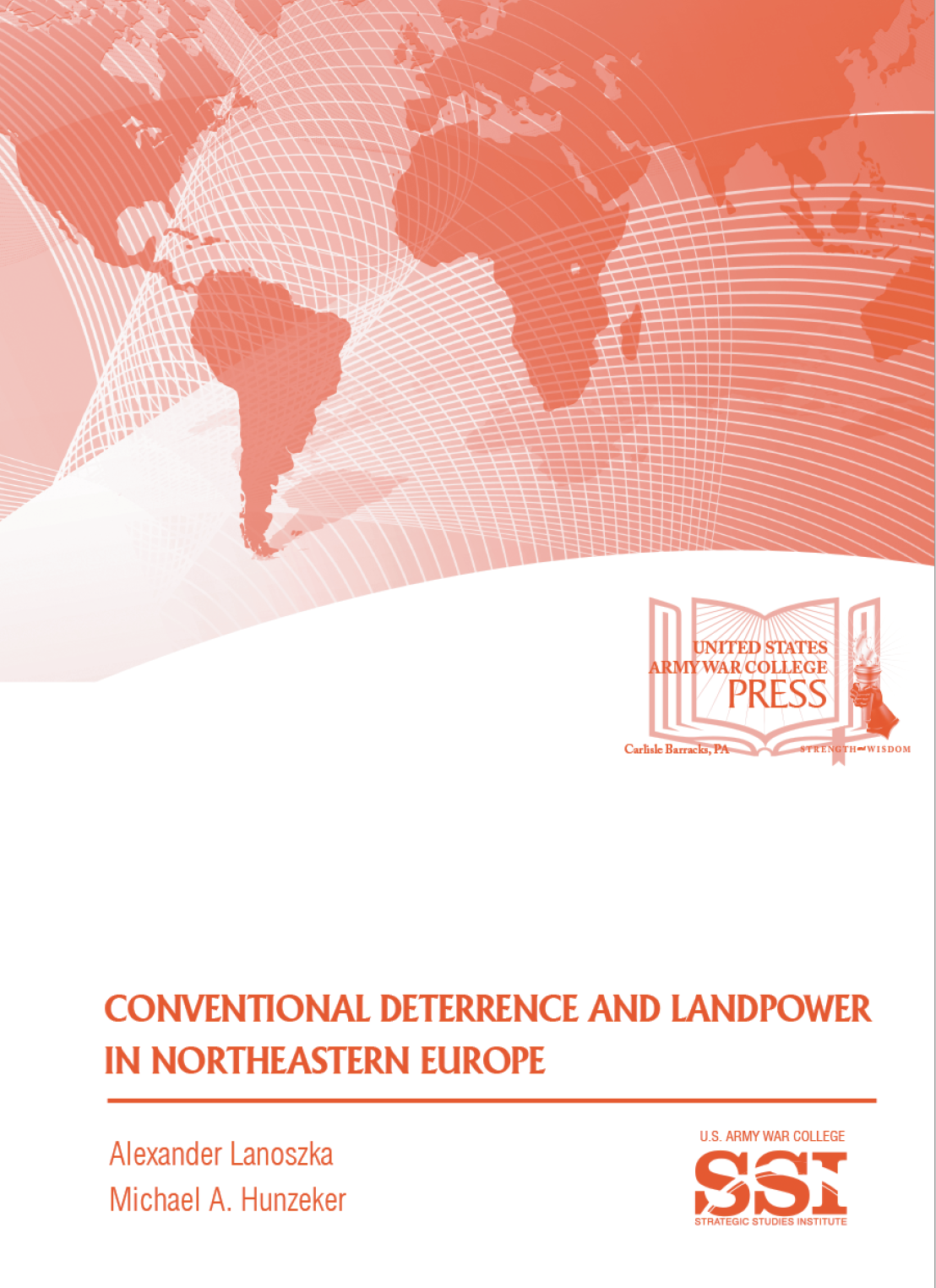 Conventional Deterrence and Landpower in Northeastern Europe book cover.
