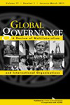 Cover of Global Governance