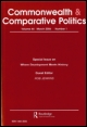 Cover of Commonwealth & Comparative Politics