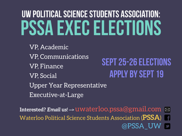 PSSA Elections