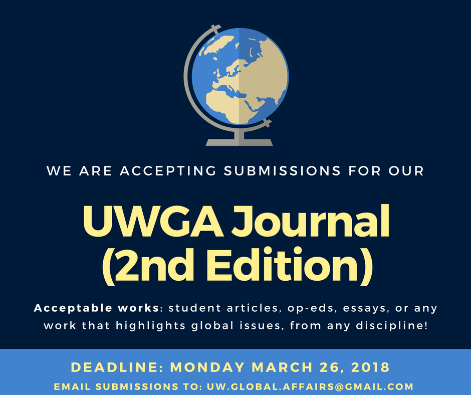 Global Affairs journal call for submissions