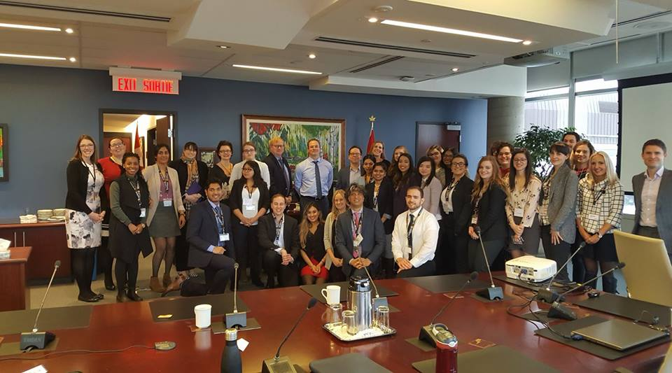 Master of Public Service students in Ottawa